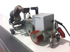 Maquina de soldar por aire caliente