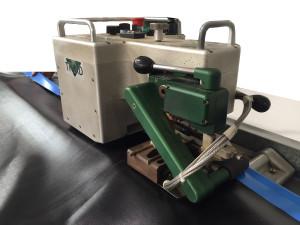 máquina de soldar por cuña caliente térmica